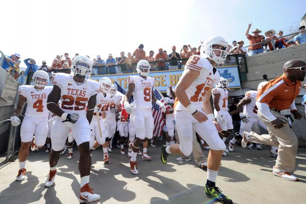 Texas Football: Ranking Incoming Freshmen by Projected 2012 Value