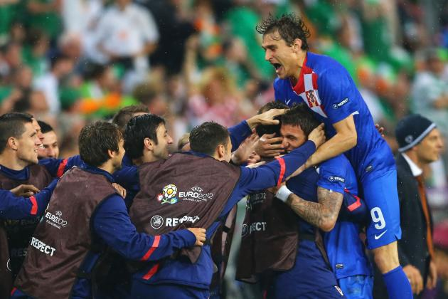 Ireland vs. Croatia: 5 Biggest Heroes for Croatia in Group C Victory