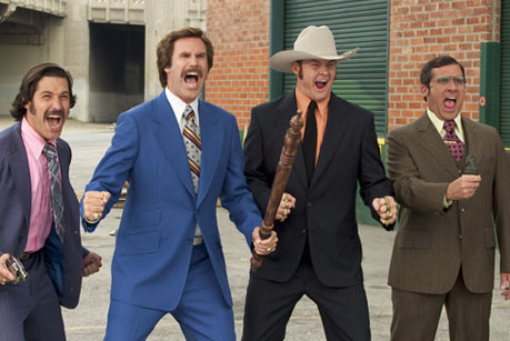 Comparing Fantasy Football Running Backs to Anchorman Characters
