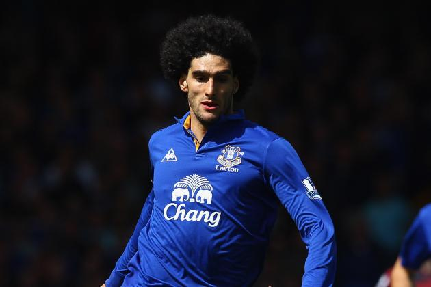 Everton Transfer Speculation: 6 Replacements If Marouane Fellaini Leaves Toffees