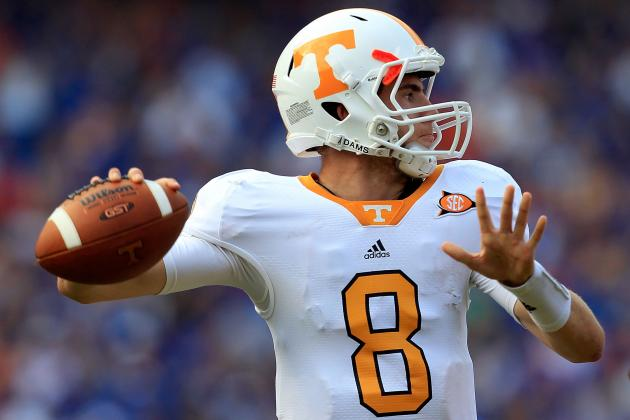Tennessee Football: The Top 10 Players for the 2012 Season