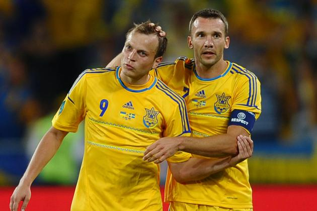 Euro 2012: Counting Down the Men of the Match from Ukraine vs. Sweden