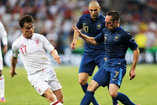 France vs. England: 10 Things We Learned from Euro 2012 Group D Opener