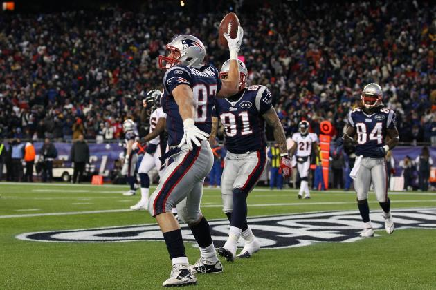 Ranking Rob Gronkowski and the Best Tight Ends in the NFL