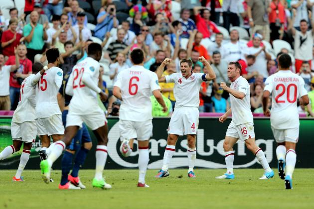 England vs. France Euro 2012: Biggest Heroes and Zeroes for Roy Hodgson's Side