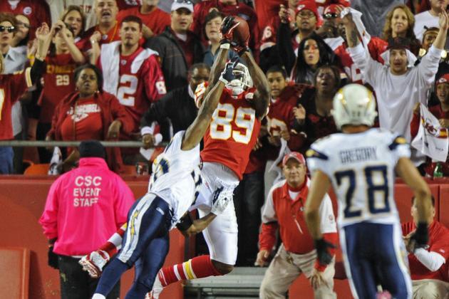 Kansas City Chiefs: Top 5 Receiving Options for 2012 Season