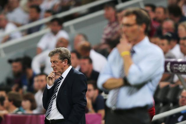 Euro 2012: England vs. France Player Ratings