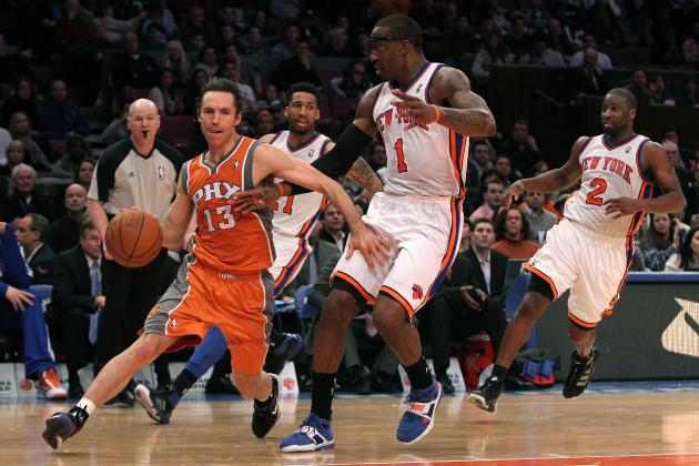 New York Knicks: 6 Reasons Steve Nash Would Be Great for Amar'e Stoudemire