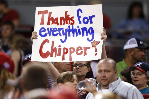 Atlanta Braves: 5 Reasons Chipper Jones Must Be Kept Around After Retirement