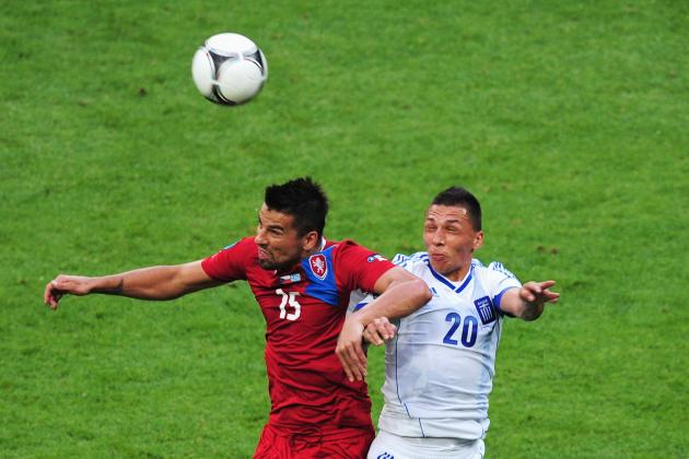 Greece vs. Czech Republic Euro 2012: Counting Down the Men of the Match