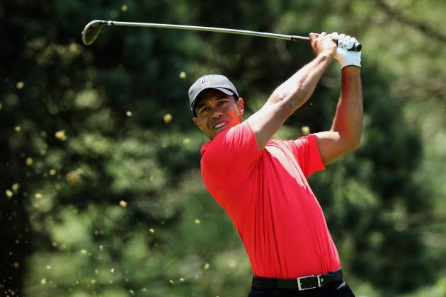 US Open Golf 2012: What Tiger Woods and Top Golfers Are Wearing