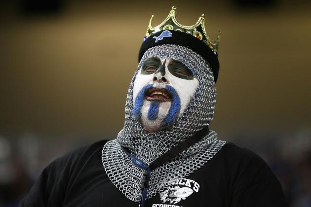 Detroit Lions: 10 Crazy Ways to Know You're a Fan