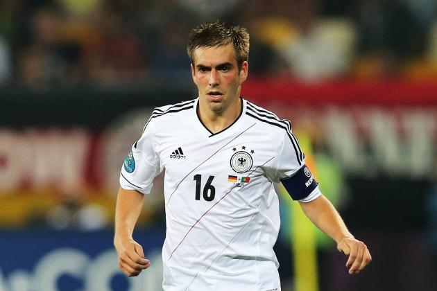 Philipp Lahm and the 6 Best Defenders in Euro 2012