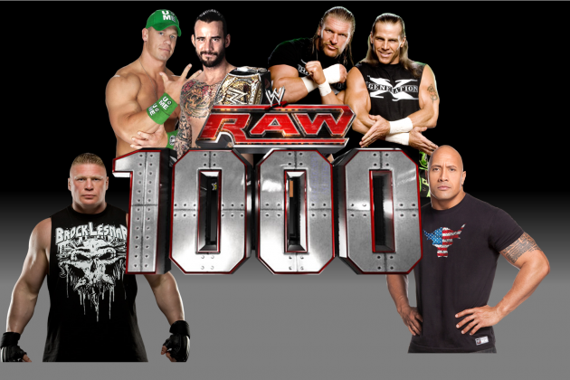 WWE: Ranking the Upcoming Segments for Raw's 1000th Episode