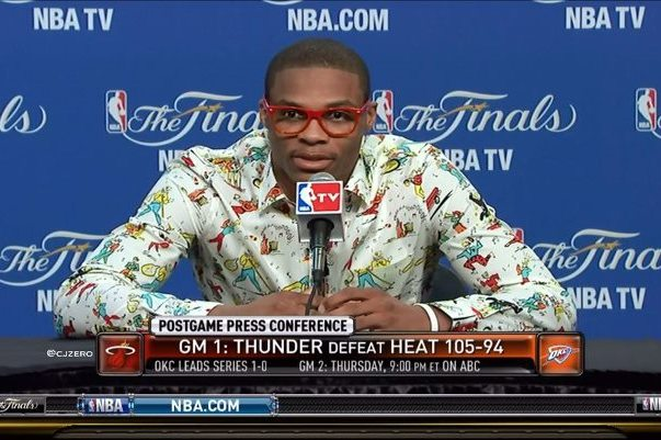 Russell Westbrook Post Game Shirts: Rating His Latest Nerd-Chic Looks