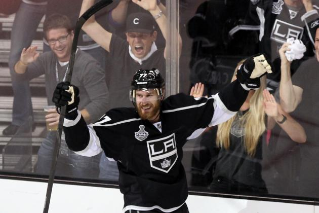 Stanley Cup Finals: Jeff Carter and Other Multi-Goal Cup-Clinching Games