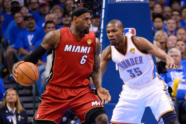 LeBron James—Kevin Durant and 10 Most Anticipated Matchups in Finals History