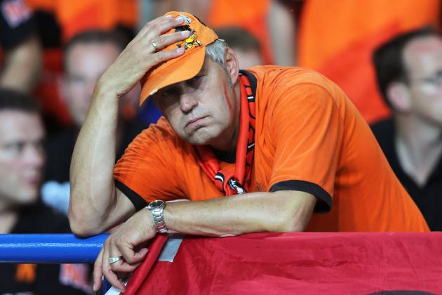 Euro 2012: 10 Reasons Netherlands Are On The Brink Of Disaster