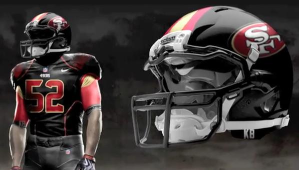 reputable site 11db2 45897 nike 49ers black jersey