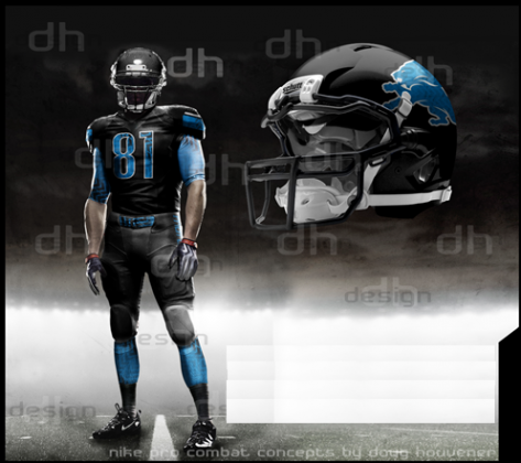 lions rush jersey