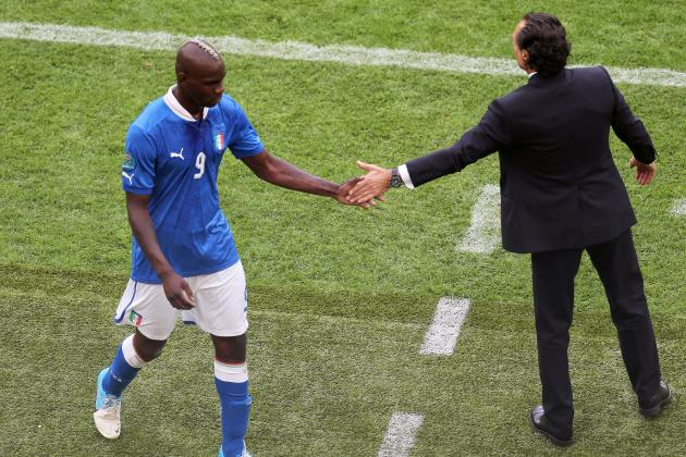 Euro 2012: Why Benching Mario Balotelli Would Be a Mistake for Italy
