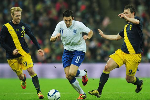 Sweden vs. England: Predicting Roy Hodgson's Starting Line-Up