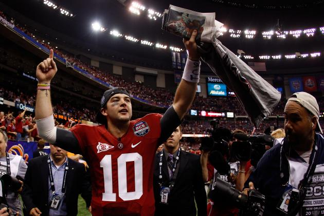 Alabama Football:  5 Ways AJ McCarron Can Improve His Game