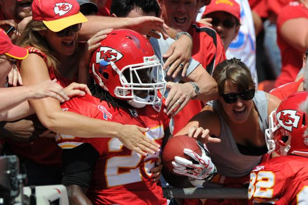 Kansas City Chiefs: 4 Bold Predictions for RB Jamaal Charles' 2012 Season