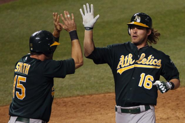 Oakland Athletics: Grading Each Position Player's 2012 MLB Season so Far
