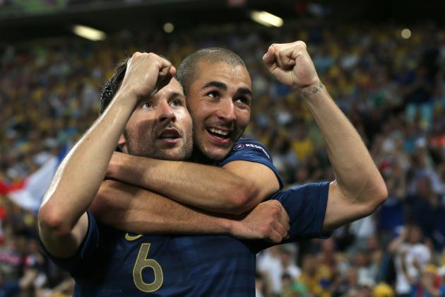 France vs. Ukraine Review: 5 Important Lessons from Friday's Match