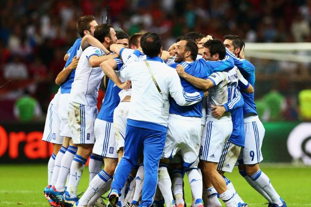 Euro 2012: Greece over Russia and 9 Biggest Euro Shocks Thus Far