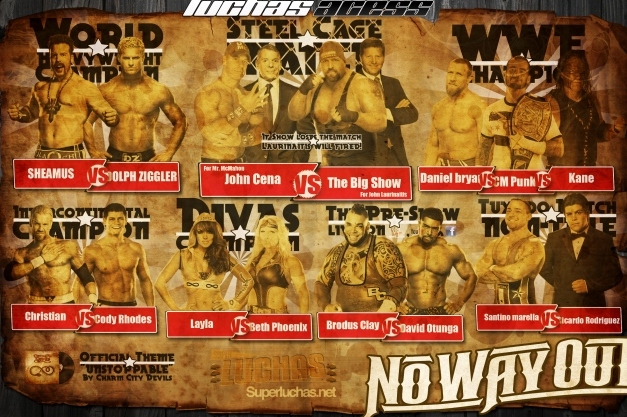 WWE No Way Out 2012 Preview: Predictions Based on Statistics