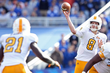 Tennessee Football: Projecting Stats for Vols' Top Players in 2012 Season