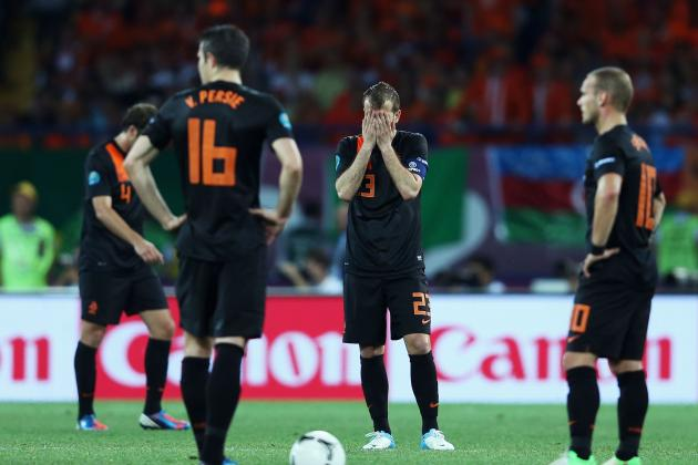 Netherlands: 4 Things That Caused Them to Crash out of Euro 2012