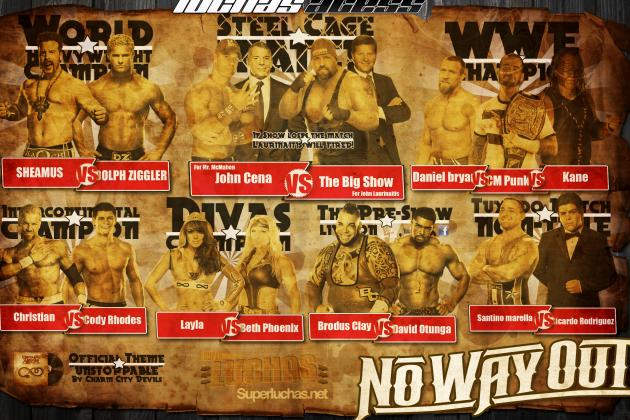 WWE No Way Out 2012 Results: Grading Each Match
