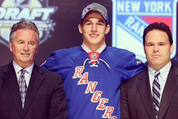 New York Rangers 2012 NHL Draft Picks: Grades, Results and Analysis