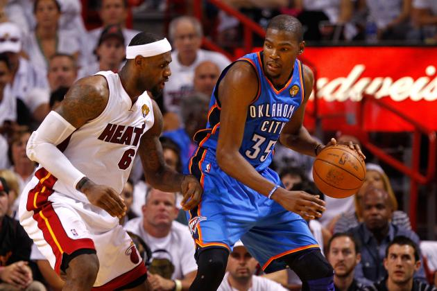 NBA Finals 2012: 7 Lessons LeBron James Can Learn from Kevin Durant