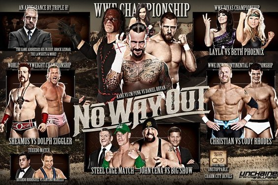 WWE No Way out 2012 Results: Questions Answered and Lessons Learned