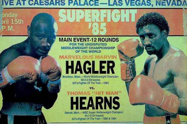 10 MMA First Rounds That Compare to Hagler vs. Hearns