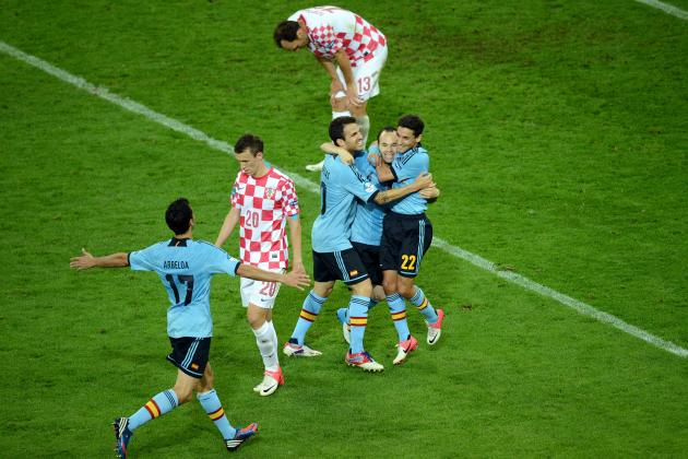 Euro 2012 Croatia V Spain: Winners and Losers in Spanish Victory in Group C