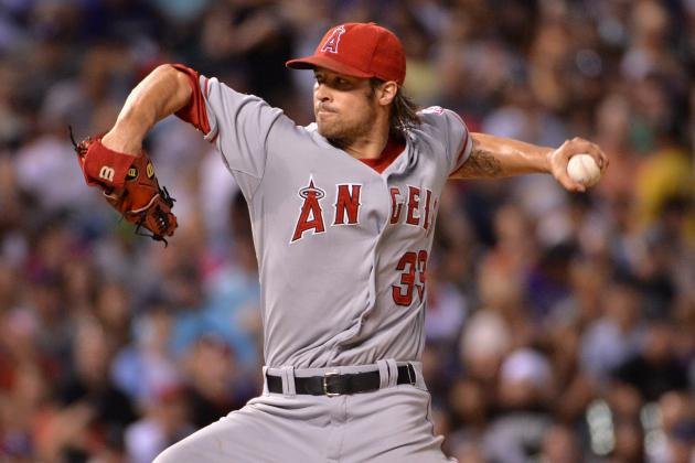 AL Cy Young Award Rankings: Angels Lefty C.J. Wilson Emerging as a Legit Threat