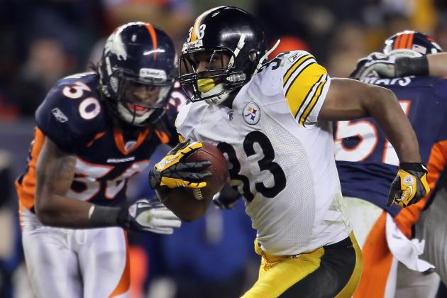 Stat Predictions for Every Pittsburgh Steelers RB in 2012