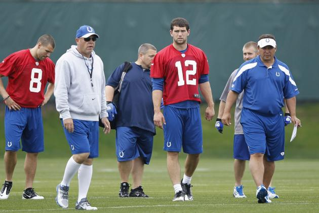 5 Encouraging Signs Heading into Indianapolis Colts' 2012 Season