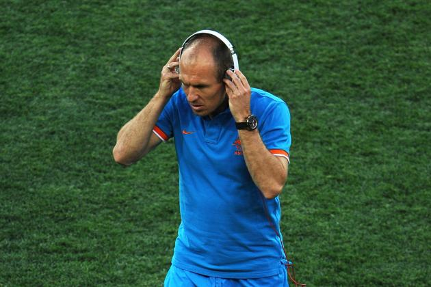 Arjen Robben and the 25 Most Annoying Footballers on the Planet