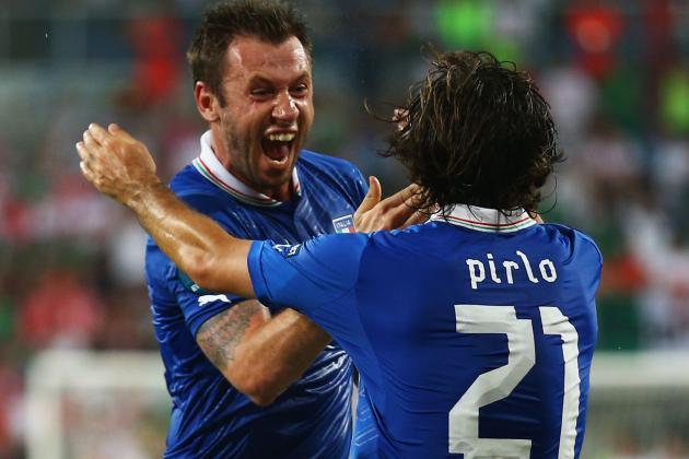 Euro 2012: Italy V. England Quarterfinal Preview