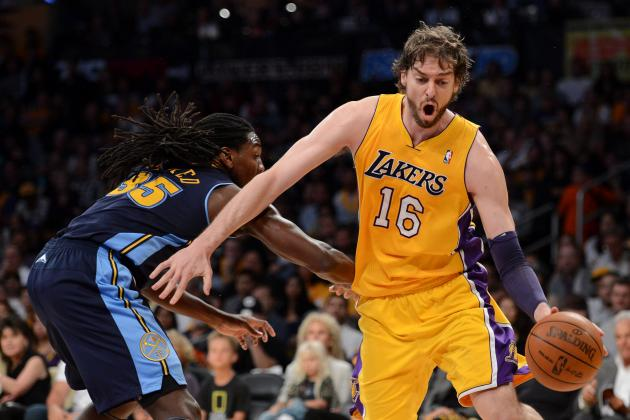 How a Pau Gasol Trade Shakes Up the 2012 NBA  Draft