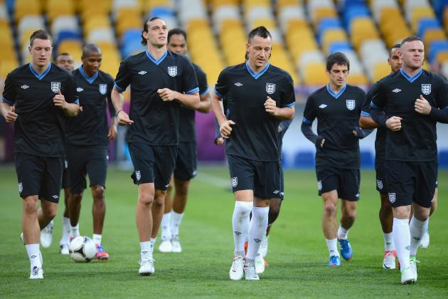 Euro 2012 Group Stages: Rating Every Member of the England Squad