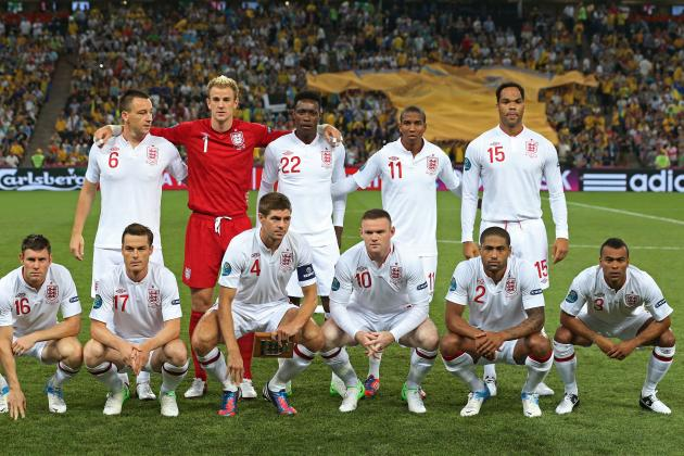 England: Grading Every Member of Their Euro 2012 Squad After the Group Stages