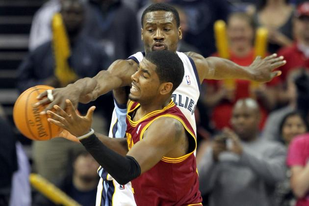 NBA Draft 2012: Top 5 Rookie Pairings for Cleveland Cavaliers' Kyrie Irving