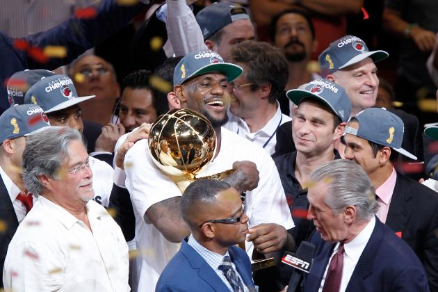 Photos: LeBron James and Miami Heat Clinch NBA Title